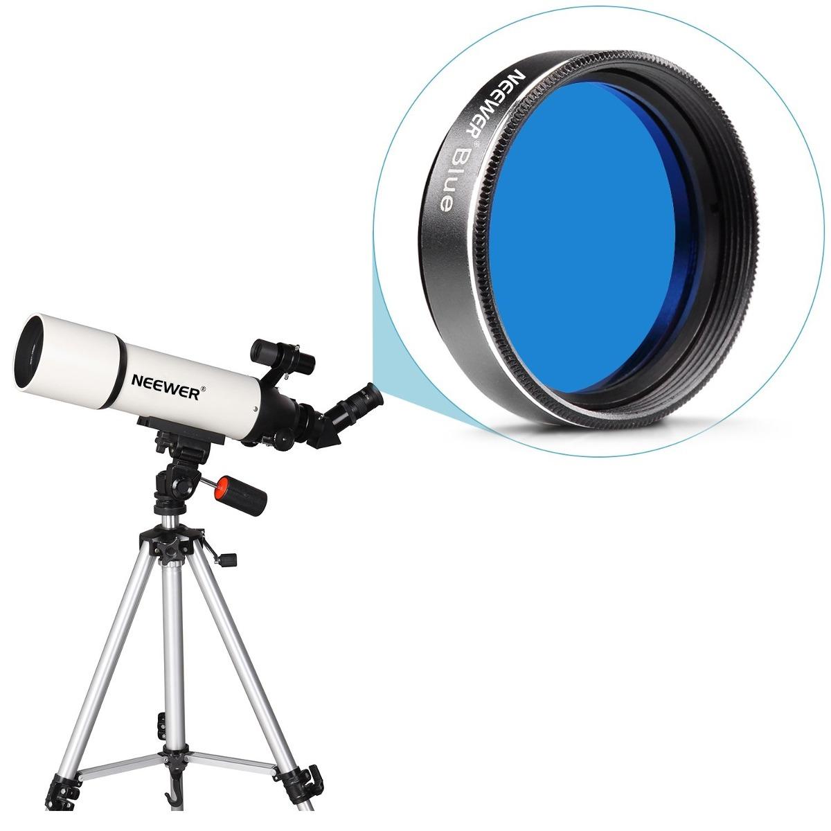 """Perfecto para Neewer ® 1.25/"""" Estándar Conjunto de cuatro filtro de color para ocular del telescopio"""