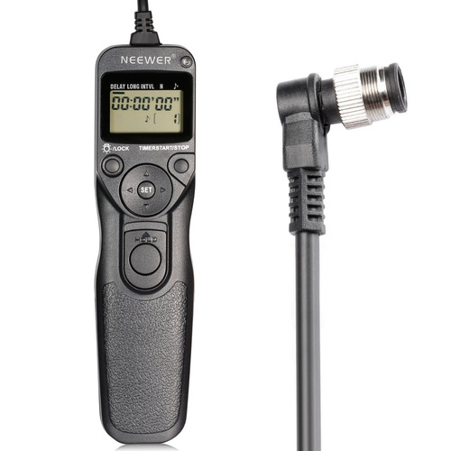 neewer shoot digital intervalometer timer control remoto eza