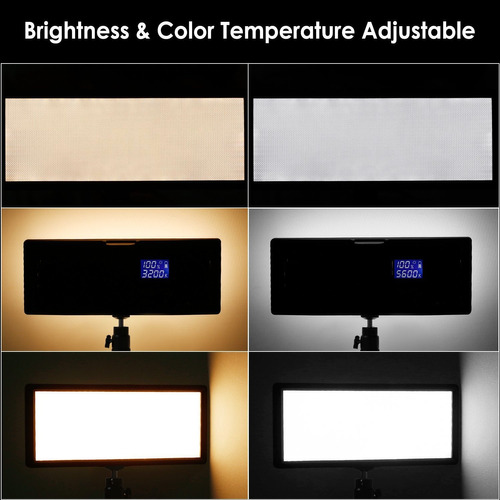 neewer super slim led video light