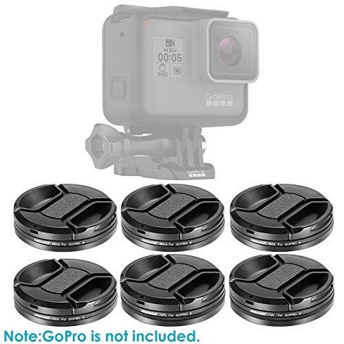 neewerkit de filtro de lente de cámara para gopro hero 5