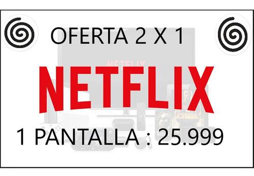 neflix 1 pantalla oferta entrega instant renovable