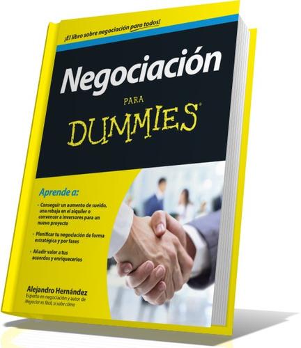 negociacion para dunmies-principiantes libro pdf+regalos