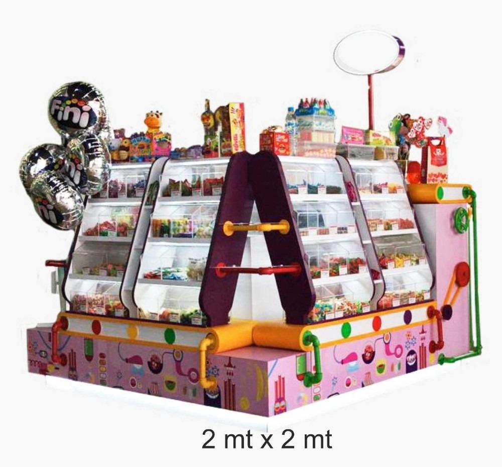 negocio de isla de dulces, regalos y detalles, confitería