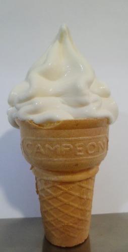 negocio, máquina para hacer helados completamente automática