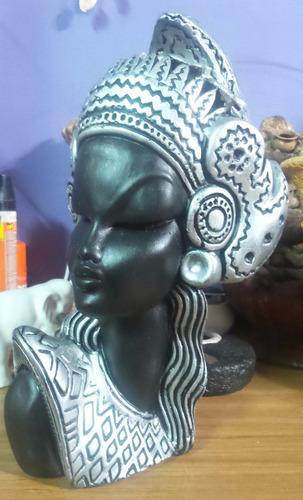 negra africana java busto