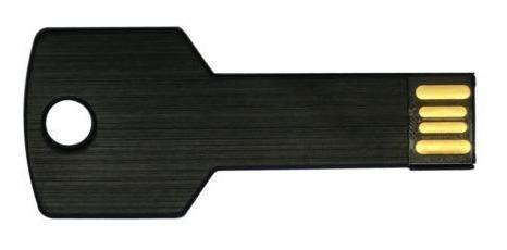 negro 32gb usb 2,0 unidades flash pen drive metal clave palo