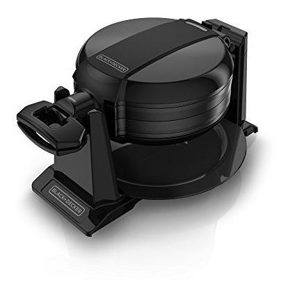 negro + decker wmd200b doble flip waflera, negro