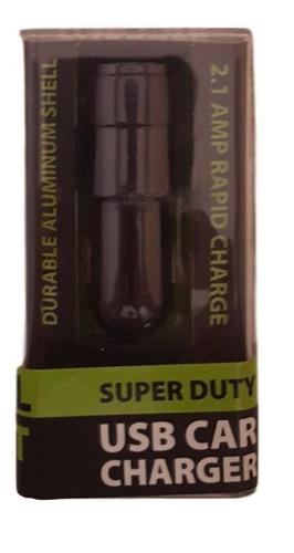 negro doble puerto superduty cargador de coch + envio gratis