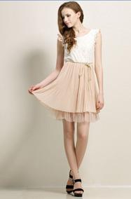 80c7ffbd3 Vestido Para Gorditas En Falda - Faldas Rosa claro al mejor precio ...