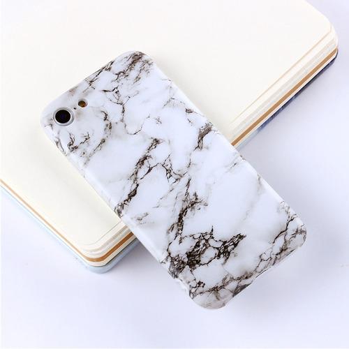 negro modelo blanco marmol volver funda protectora tpu para