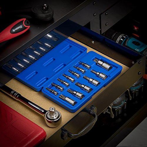 neiko 10073a torx tamper socket bits set prooft escriba