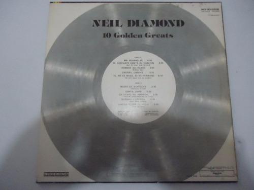 neil diamond / 10 golden greats lp acetato