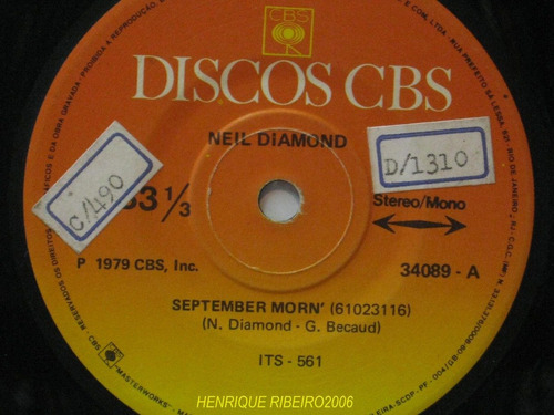 neil diamond compacto 7 september morn + i'm a believer