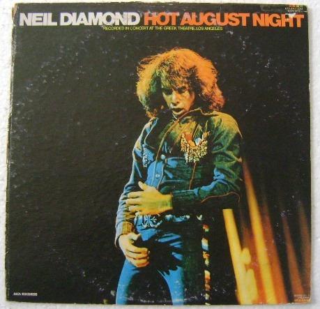 neil diamond / hot august night 2 discos  lp vinil