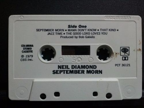 neil diamond september morn cassette usado edición 1979 usa.