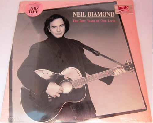 neil diamond - the best years of our lives usa nuevo  lp
