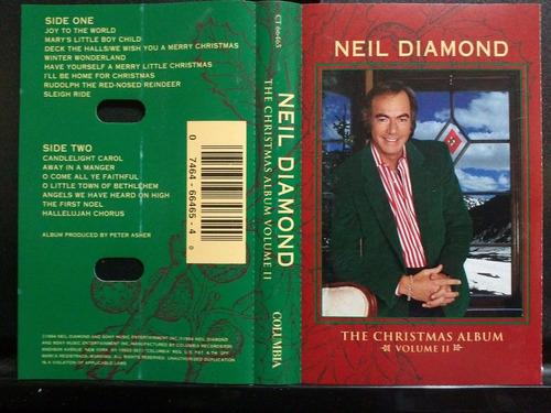 neil diamond the christmas album ii  cass usado ed 1994 usa.