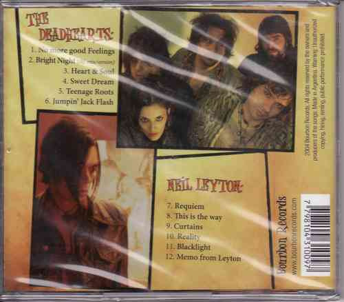 neil leyton, the deadhearts rock & roll used to mean some cd