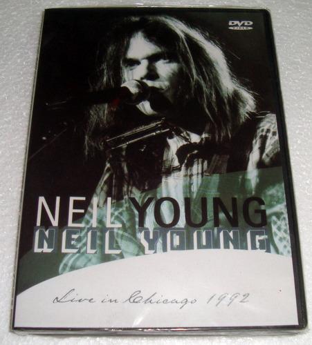 neil young live in chicago 1992 dvd nuevo sellado / kktus