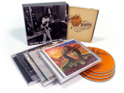 neil young official release series discs 1 - 4 box set