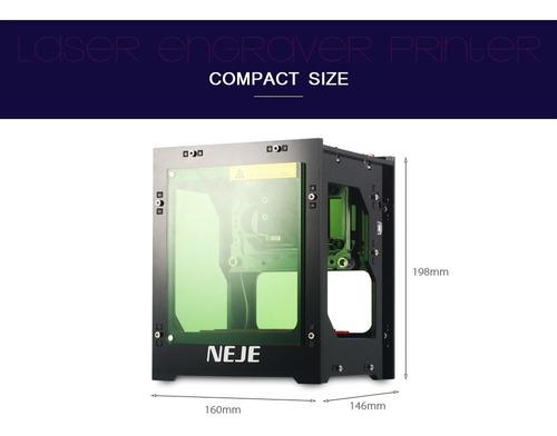 neje dk - 8 - kz  impresora láser grabador cortador