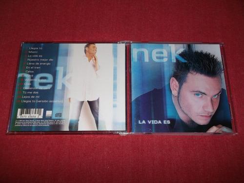 nek - la vida es cd imp ed 2000 mdisk