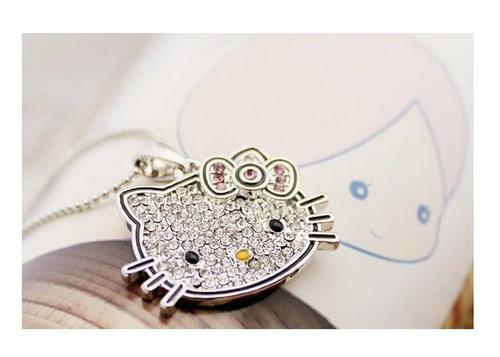 neko lucky accesorios- collar cute hello kitty
