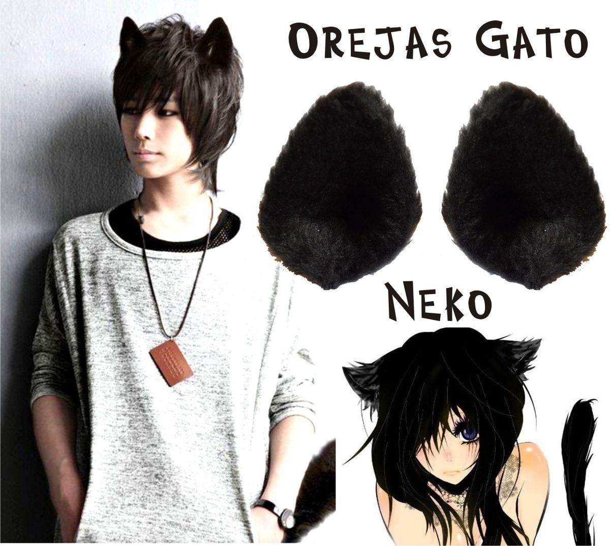 Cosplay De Neko Kawaii