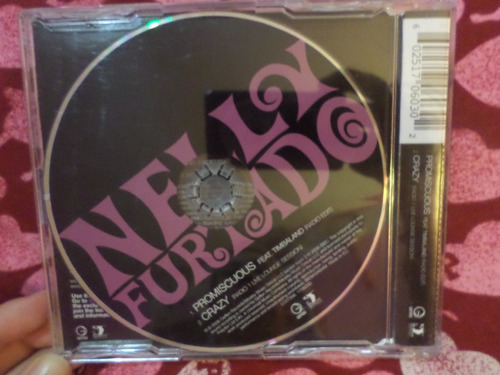 nelly furtado cd single promiscuous feat timbaland