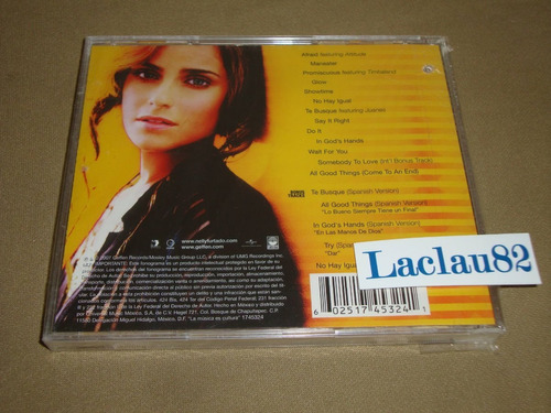 nelly furtado loose spanish special edition cd nuevo