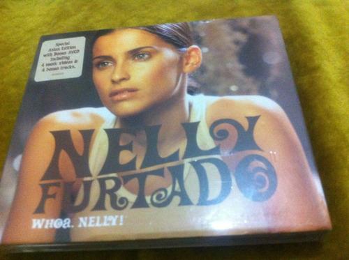 nelly furtado - whoa, nelly¡  asian edition con bonus avcd
