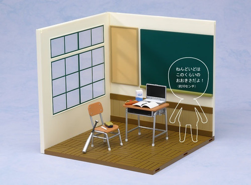 nendoroid playset - school life set a