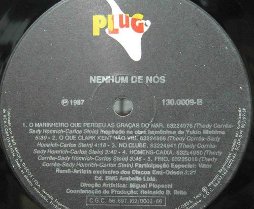 nenhum de nós - lp plug 1987