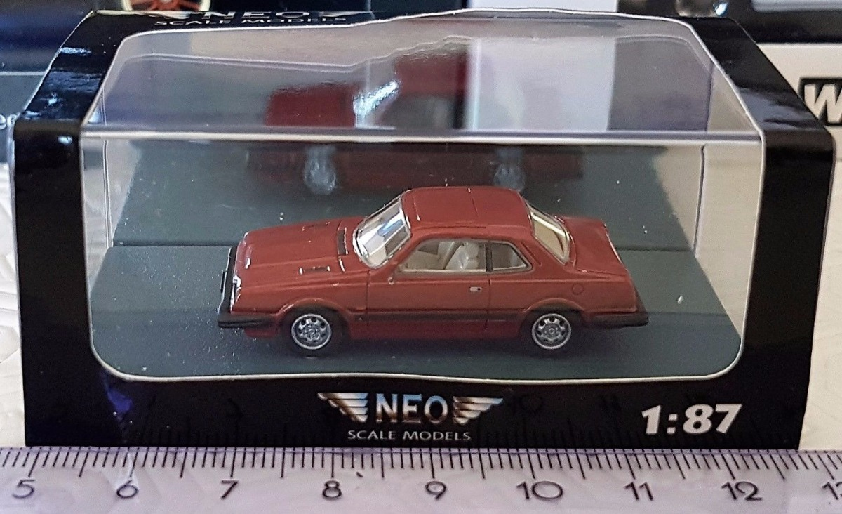 Neo Models Mini Honda Prelude Mk1 Diecast Scale 1:87 Ho
