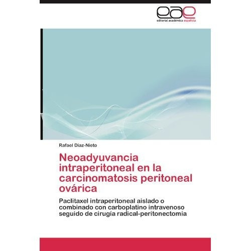 neoadyuvancia intraperitoneal en la carcinomato envío gratis