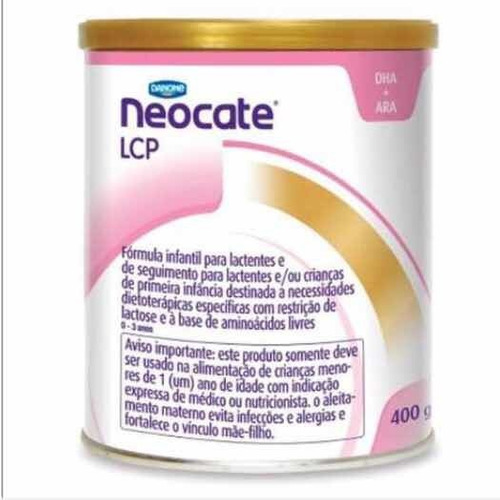 neocate lcp 400 g combo duas latas