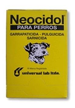 neocidol garrapaticida - pulguicida - sarnicida para perros