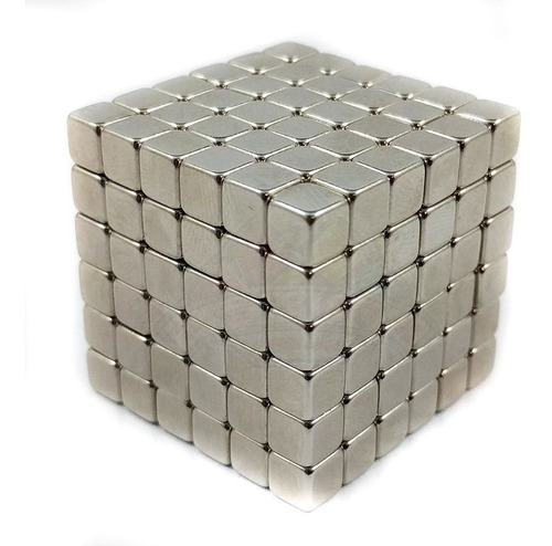 neocube buckyballs 216 esferas 5 mm iman neodimio arco iris