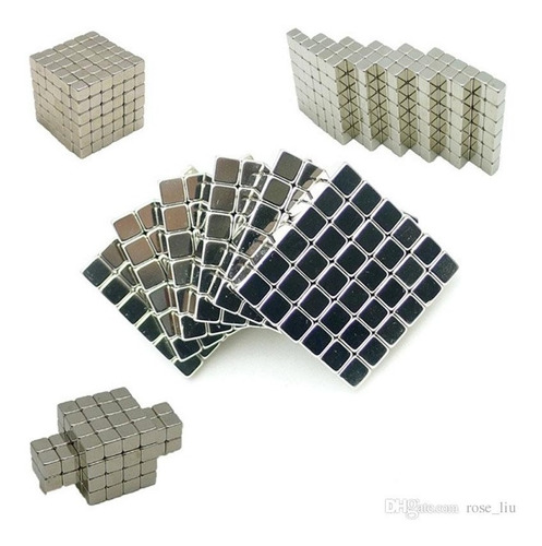 neocube buckyballs 216 piezas 5 mm iman neodimio cuadrado