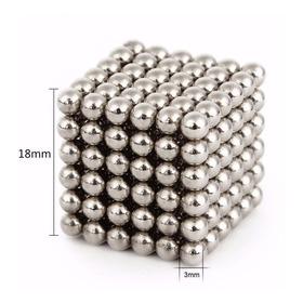Neocube Cubo Magnético 216 Esferas De 3mm Imã Neodímio