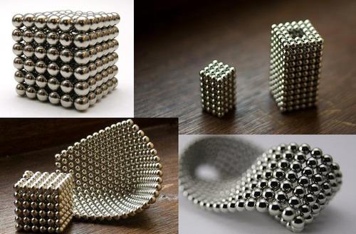 neocube neocubo 216 imãs esferas 5mm + lata
