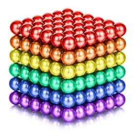 Neodimio Bolas Magnéticas Cubo Mágico 216 Und Colores