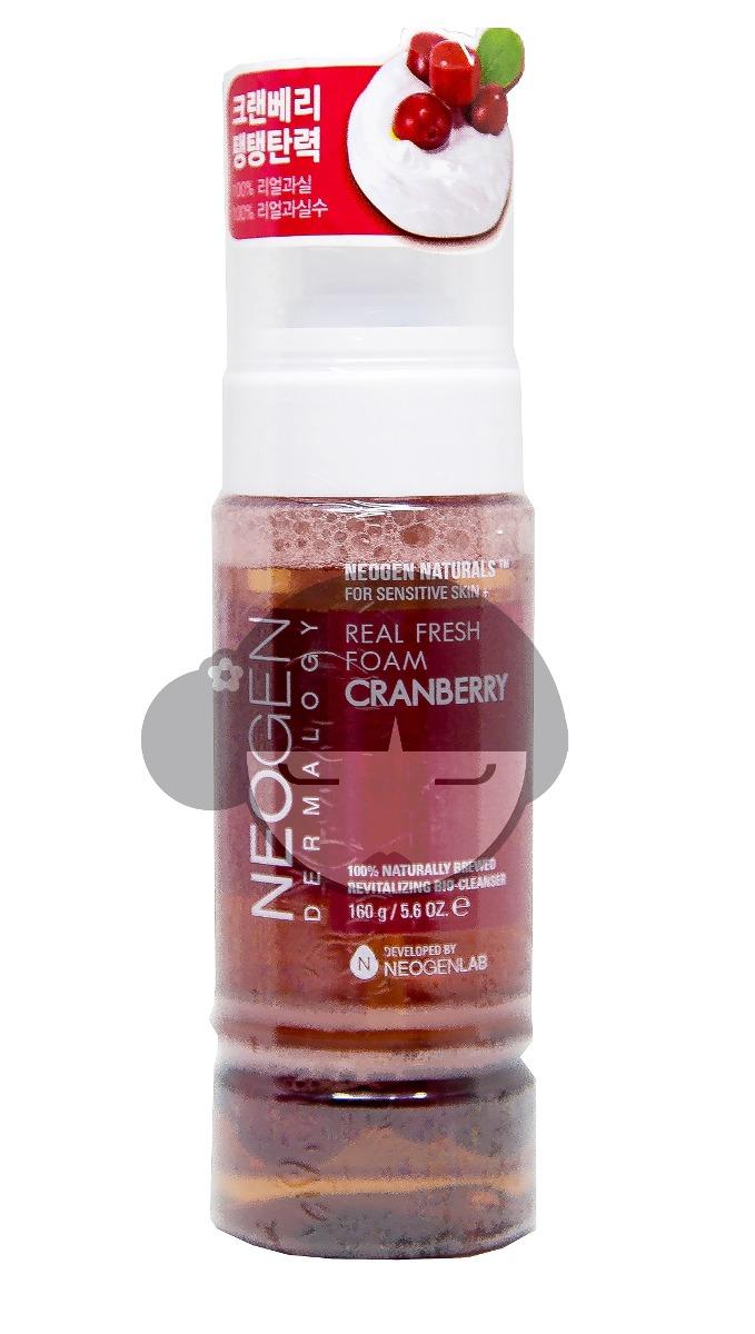Neogen Dermalogy Real Fresh Foam Cranberry Daftar Harga Terbaru 160ml Arandano Limpiador Coreano Cargando Zoom
