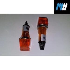 neon 220v cuadrado naranja sl393a