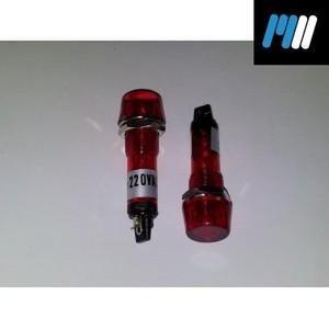 neon 220v plastico c/anillo rojo sl602