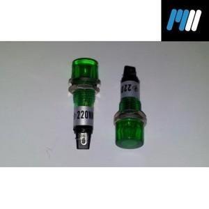 neon 220v redondo verde sl393