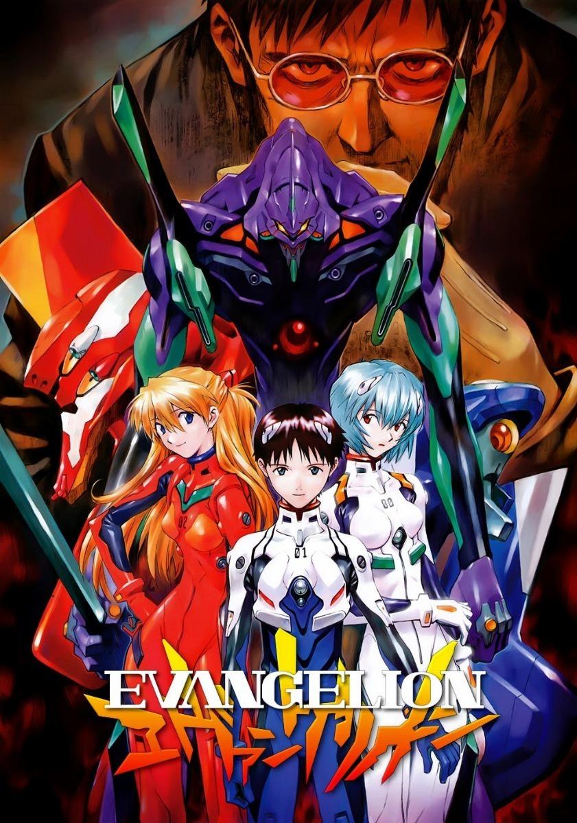 Neon Genesis Evangelion Completa Full Hd 1080p Widescreen ...