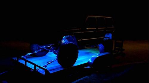 neon r - blue luces interiores de coches super brillante cre