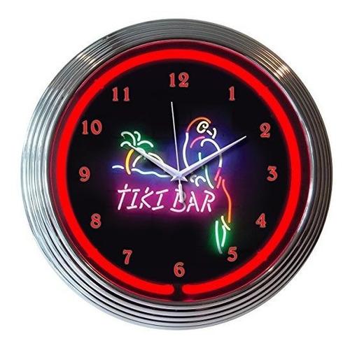 neonetica 8tikix tiki bar neon reloj