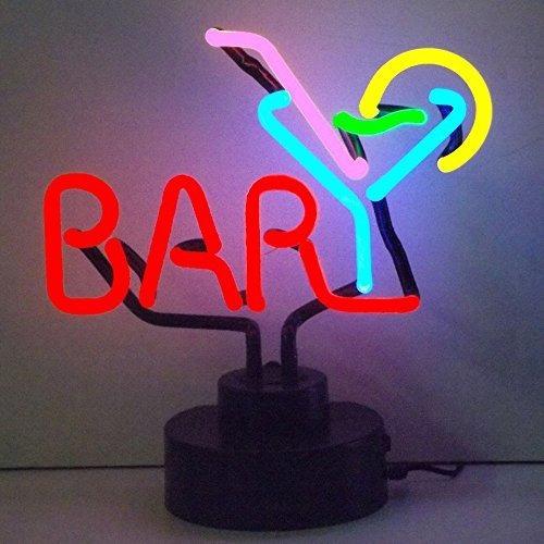 neonetica negocios signos bar con martini neon sign escultur